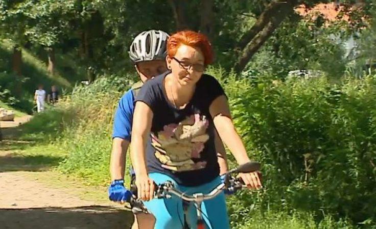 Niewidomy cyklista szuka kompana do rowerowego tandemu