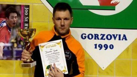 Sukces Jacka Dreczki w turnieju VIPów w tenisie stołowym