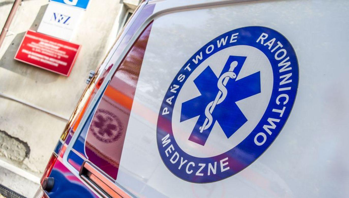 19-latek został odratowany i w stanie ciężkim trafił do szpitala (fot. tvp.info/Paweł Chrabąszcz)