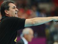 Trener Hiszpanów, Valero Rivera Lopez (fot. Getty Images)