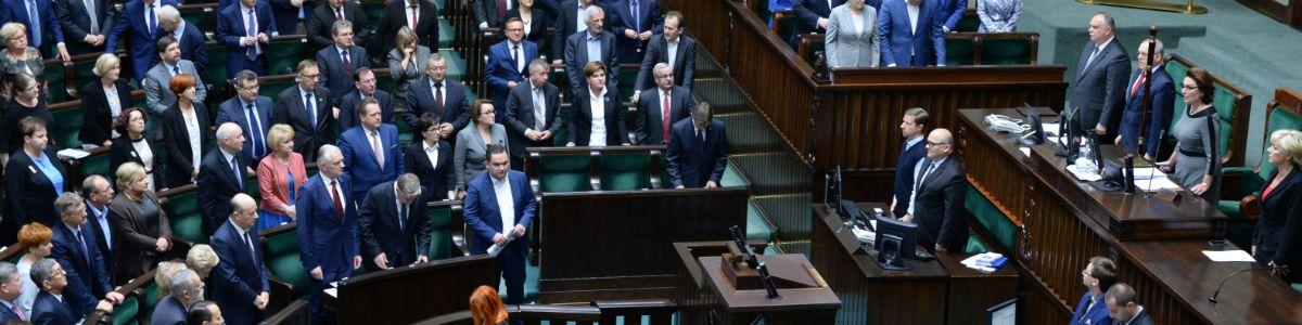 Awantura na koniec Sejmu