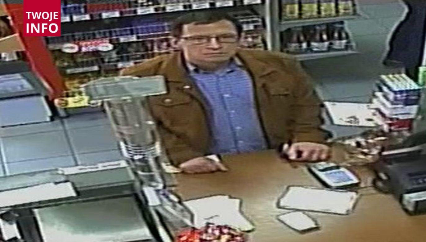 Mężczyzna zapłacił fałszywym banknotem o nominale 200 zł (fot. sucha-beskidzka.policja.gov.pl)
