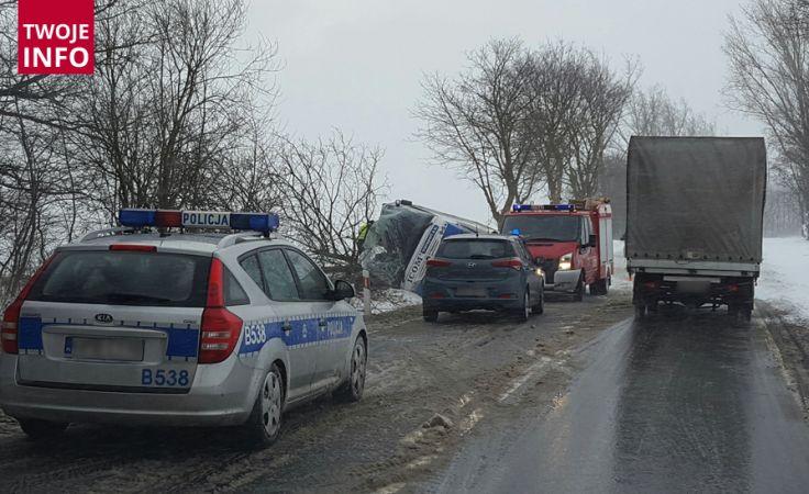 Autobus przewoził pracowników do Czech (fot.Twoje Info/Mariusz)