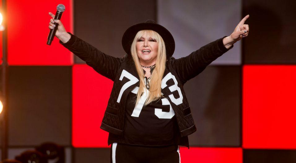 Gościem odcinka była niekwestionowana królowa festiwalu – Maryla Rodowicz, która na opolskiej scenie wystąpiła aż 37 razy! (fot. TVP)