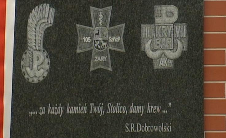 Odsłonięto pamiątkową tablicę lekarzy - oficerów