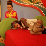 Nawet cierpliwa Spacja i wesoła Małpka bywają zmęczone (fot. TVP)