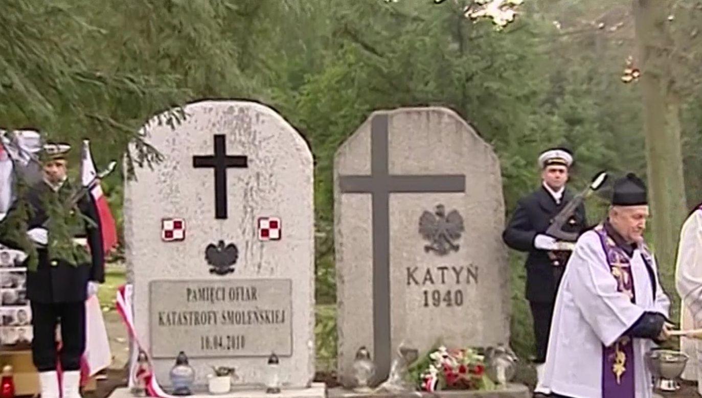 Wcześniej została odprawiona msza święta w intencji śp. Lecha Kaczyńskiego i wszystkich ofiar katastrofy (fot. tvp.info)