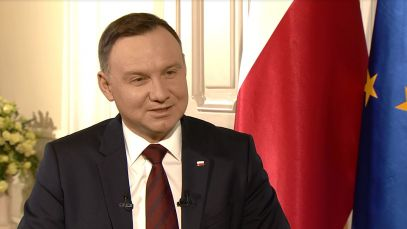 Czego życzy TVP Historia prezydent Andrzej Duda?
