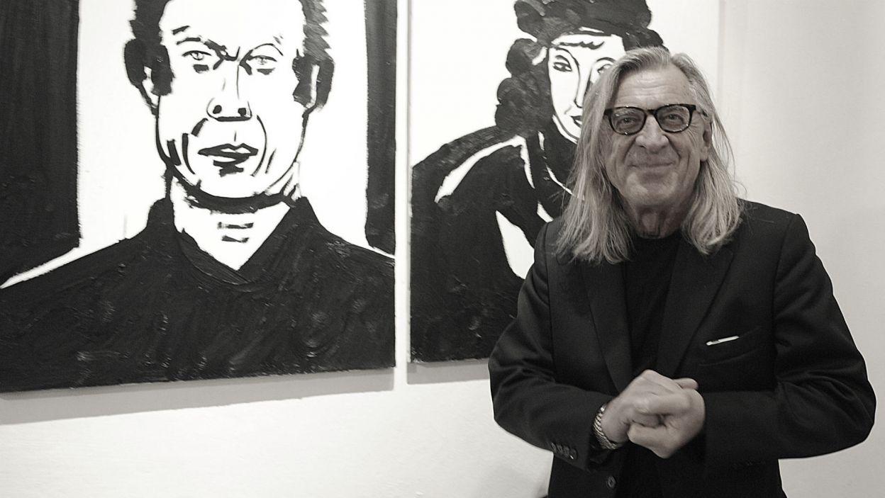 Kilka dni temu zmarł znakomity malarz i grafik Edward Dwurnik (fot. PAP)