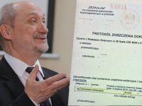 MON zabiera głos ws. zniszczonych meldunków: zawiadomienie do prokuratury po starcie prac podkomisji