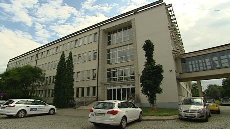 Siedziba Oddziału Terenowego TVP S.A. w Krakowie przy ul. Krzemionki 30