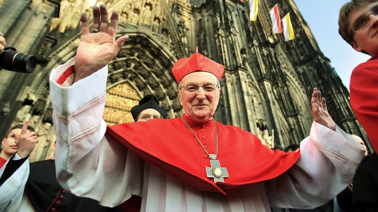 Były kardynał Kolonii był wielkim przyjacielem Polski (fot. PAP/EPA/OLIVER BERG)