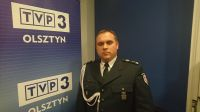 Mł. insp. Dariusz Postek, dyrektor Izby Celnej w Olsztynie