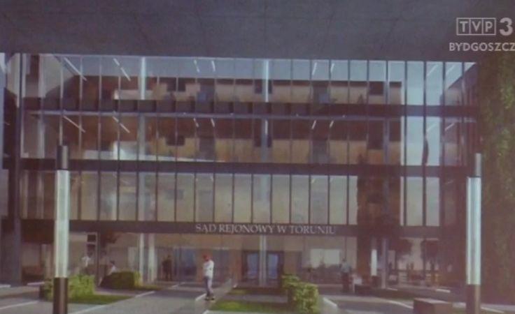 Jest projekt budynku nowego Sądu Rejonowego w Toruniu