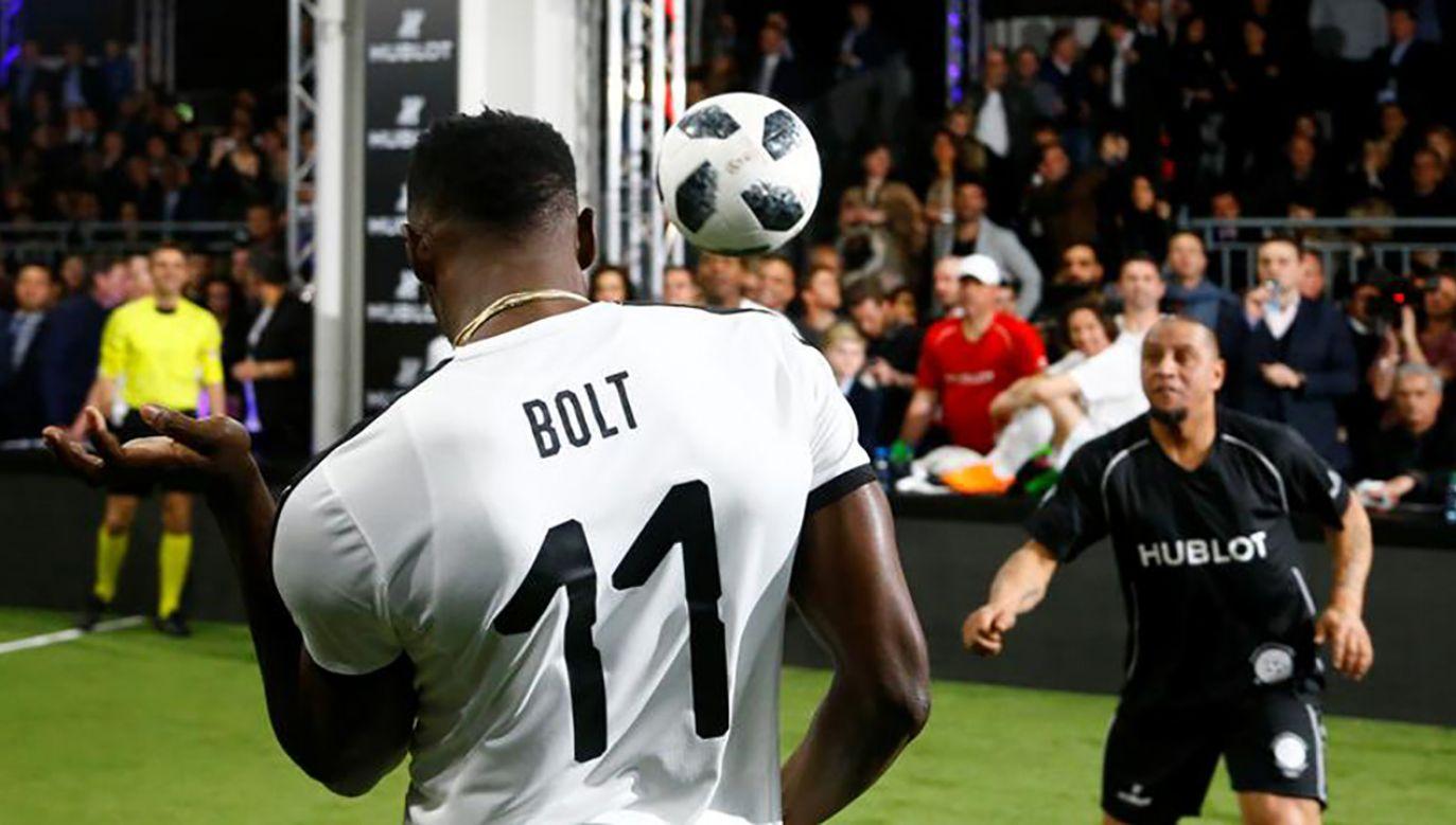 Usain Bolt zakończył karierę sprintera, teraz trenuje piłkę nożną (fot. REUTERS/Arnd Wiegmann)