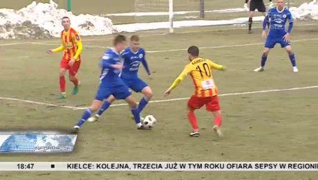 Korona Kielce przegrała sparing ze Stalą Mielec
