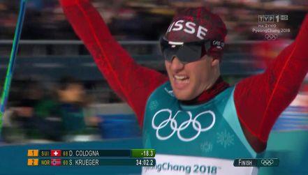 Dario Cologna przeszedł do historii! Zdobył trzecie olimpijskie złoto