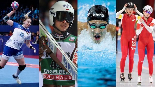 Skoki, ręczna, łyżwiarstwo, pływanie... Niedziela w TVP