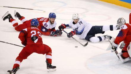 Czechy lepsze od USA w ćwierćfinale. Cios za cios, gol za gol