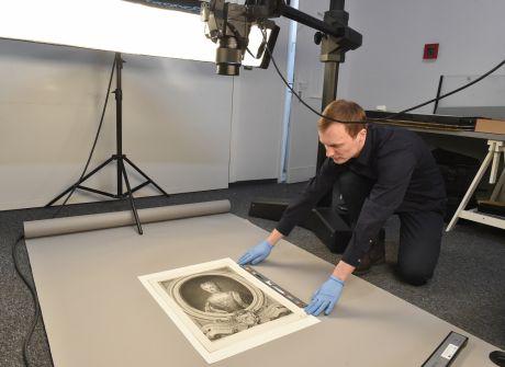 Digitalizacja dzieł sztuki w pracowni Muzeum Narodowego