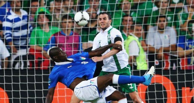 Swojego pierwszego gola na Euro 2012 snajper reprezentacji Włoch zdobył w meczu z Irlandią (fot. Getty Images)