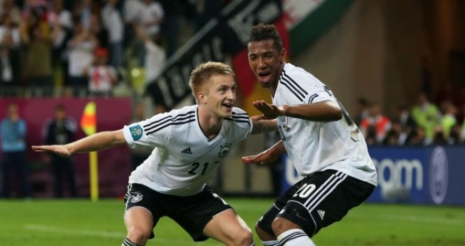 Marco Reus i Jerome Boateng (fot. Getty Images)