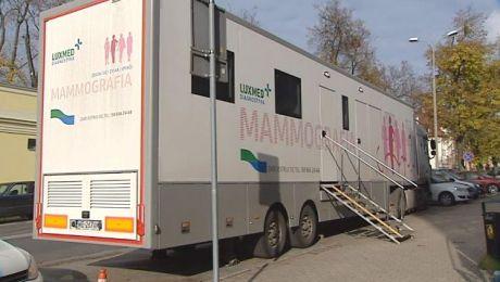 Tylko w listopadzie mammobus pojawi się jeszcze w 15 powiatach w regionie