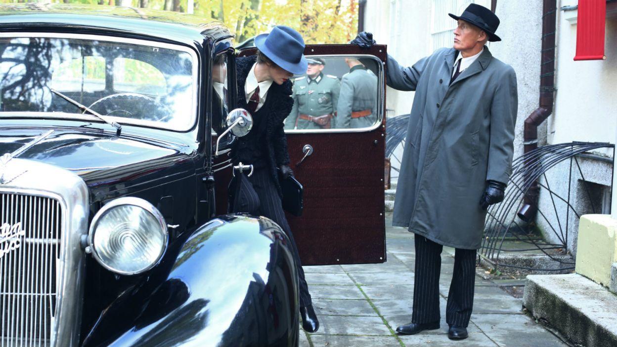Do Warszawy przyjeżdża Margarethe Von Losein – siostra Dietricha (fot. TVP)