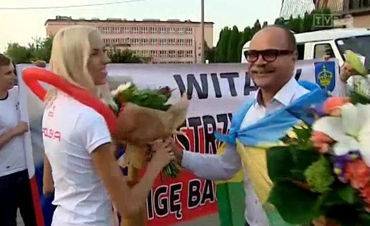 Niespodziewane powitanie medalistów z Berlina