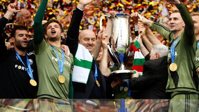 Race popsuły święto. Legia obroniła Puchar Polski