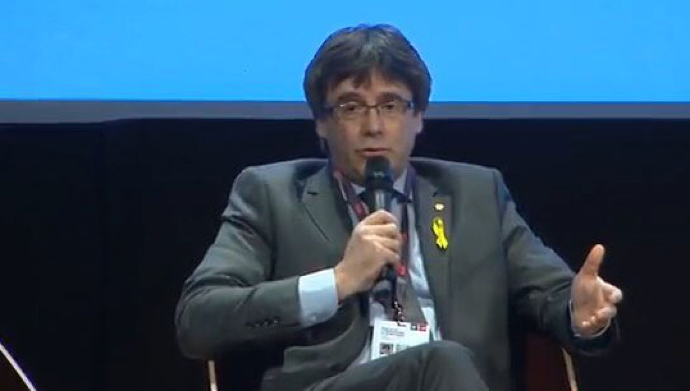 Carles Puigdemont (fot. twitter.com/@JuntsXCat)
