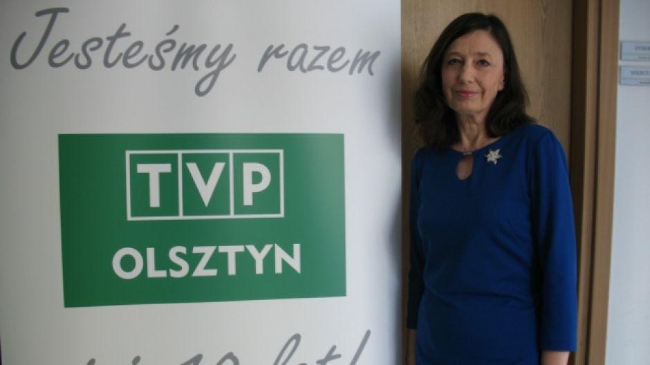 Jolanta Skrzypczyńska, dyrektorka LO 1 w Olsztynie.