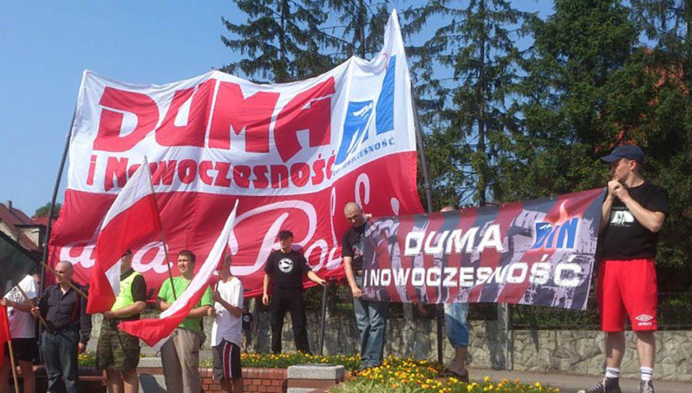 Śledztwo w sprawie ws. publicznego propagowania faszyzmu prowadzi prokuratura (fot. fb/Duma i Nowoczesność)