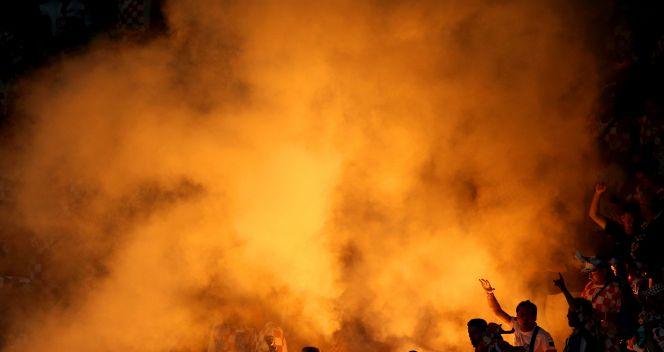 Kibice reprezentacji Chorwacji (fot. Getty)