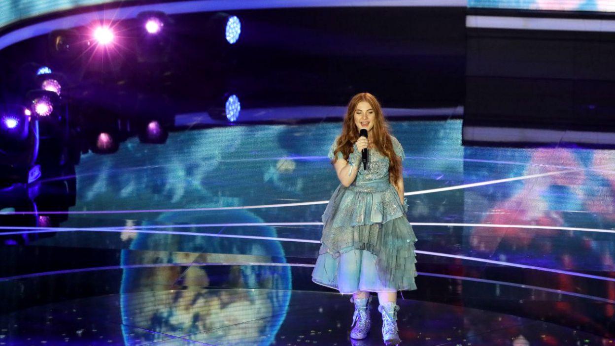 Jako pierwsza wystąpiła Zena Donnelly z Irlandii (fot. Andres Putting/EBU)