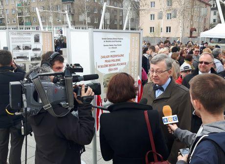 Otwarcie wystawy z okazji 100. rocznicy włączenia Pragi Południe do Warszawy