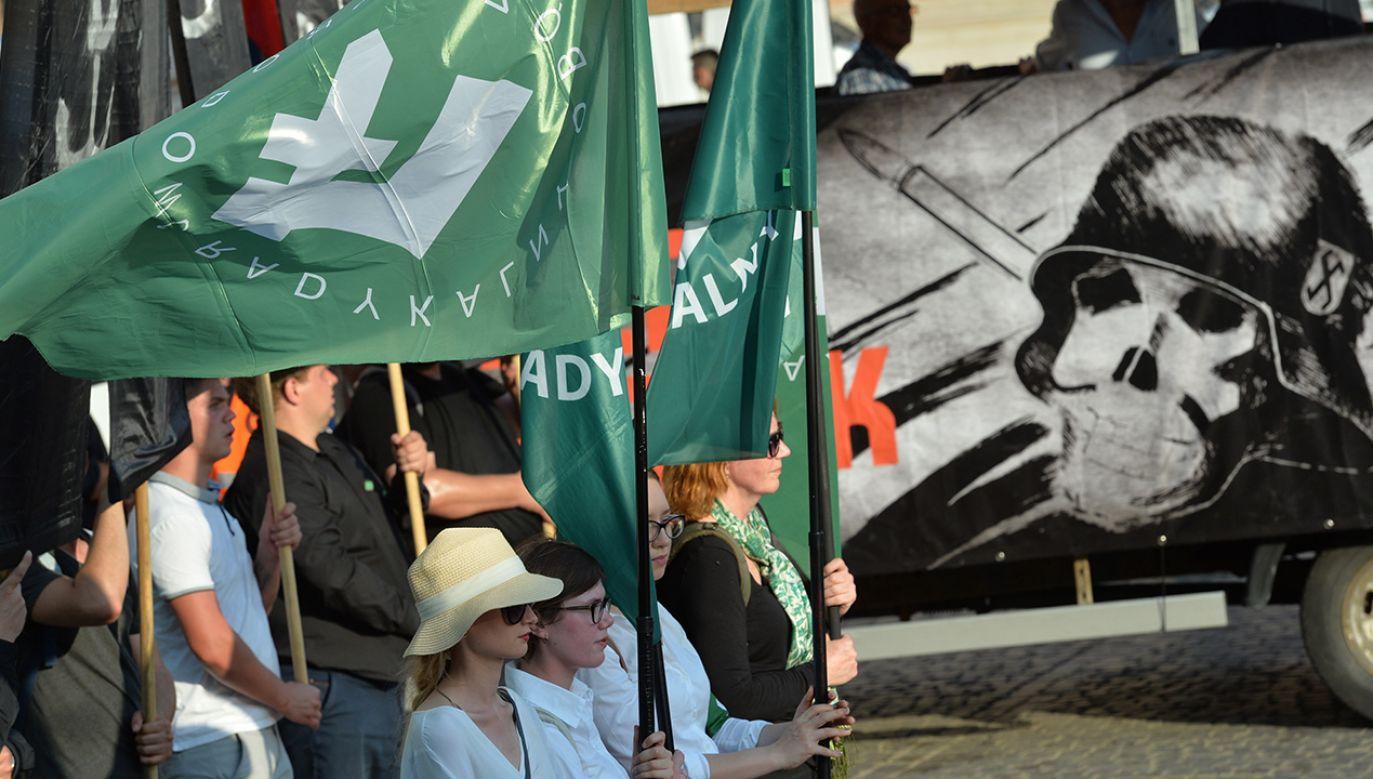 Śledztwo w sprawie ws. publicznego propagowania faszyzmu prowadzi prokuratura (fot. PAP/Jacek Turczyk)