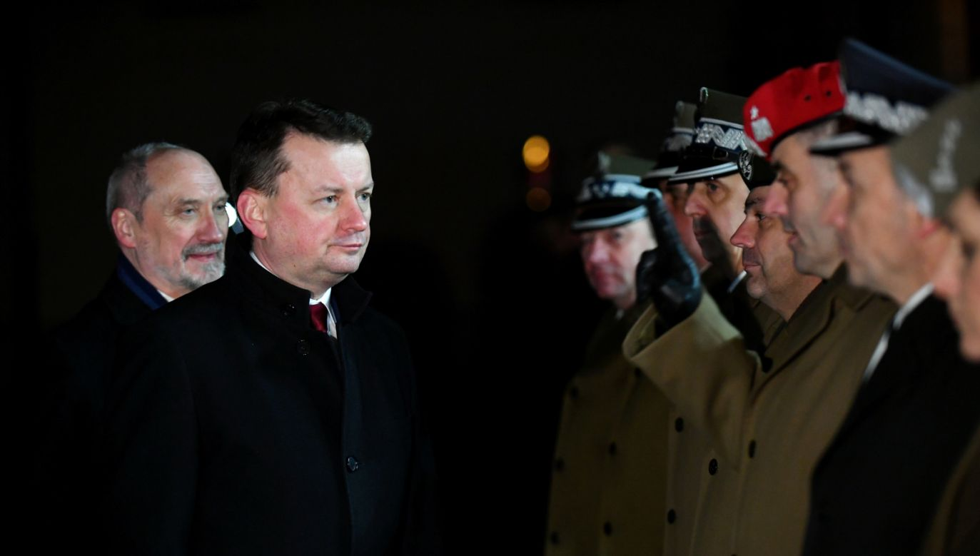 Minister Mariusz Błaszczak ma się spotkać z sekretarzem generalnym NATO Jensem Stoltenbergiem (fot.  PAP/Bartłomiej Zborowski)