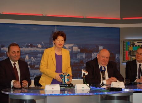 Jubileuszowa Konferencja Prasowa z okazji 55-lecia TVP Szczecin