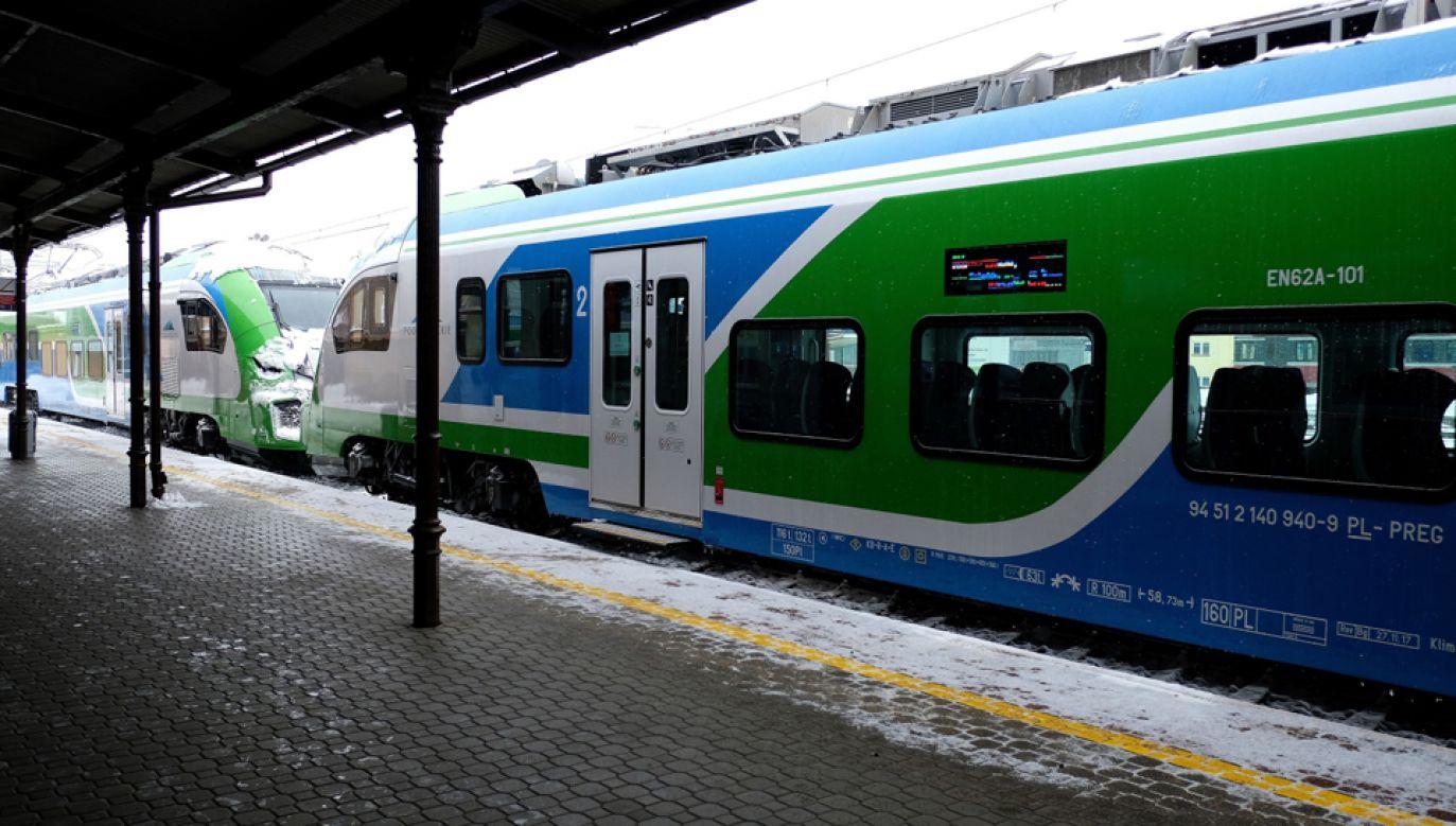 Od soboty obowiązuje nowy, zimowy rozkład jazdy pociagów (fot. PAP/Darek Delmanowicz)
