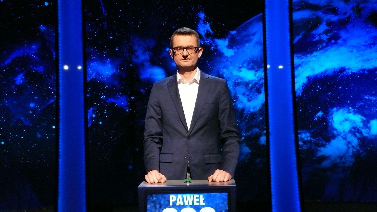 Paweł Jackowski - zwycięzca 1 odcinka 99 edycji