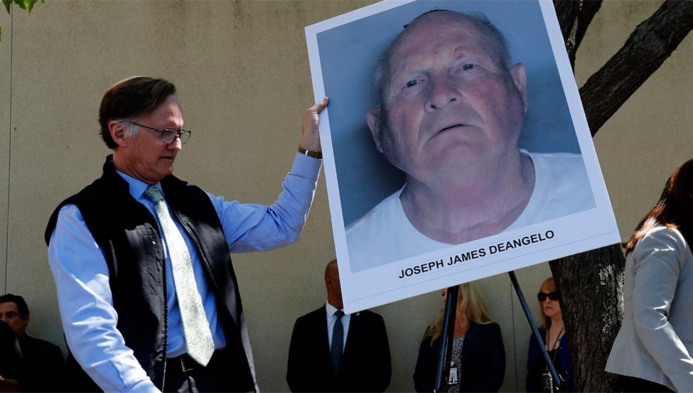 Zatrzymany Joseph James DeAngelo to były policjant (fot. PAP/EPA/JOHN G. MABANGLO)