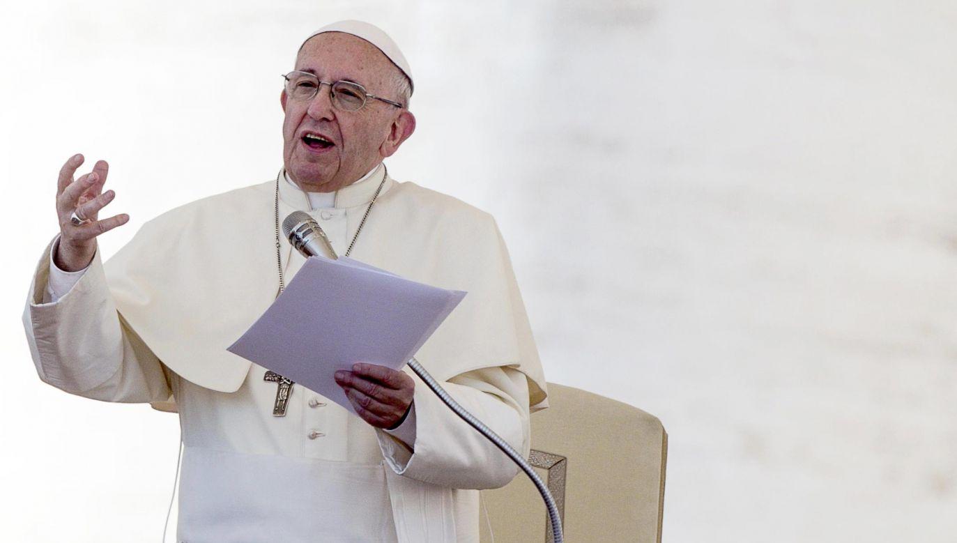 Papież przypomniał w liście postać świętego Wojciecha (fot. PAP/EPA/ANGELO CARCONI)