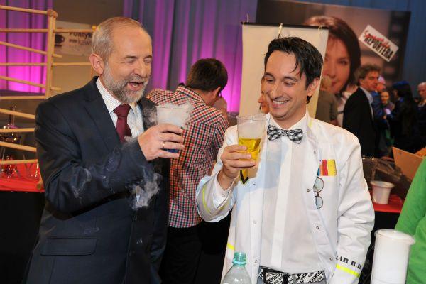 Stanowisko popularnego programu odwiedził nawet prezes TVP Juliusz Braun (fot. I. Sobieszczuk/TVP)