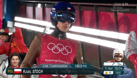Pjongczang: Kamil Stoch 2. na pierwszym  treningu (132,5 m)