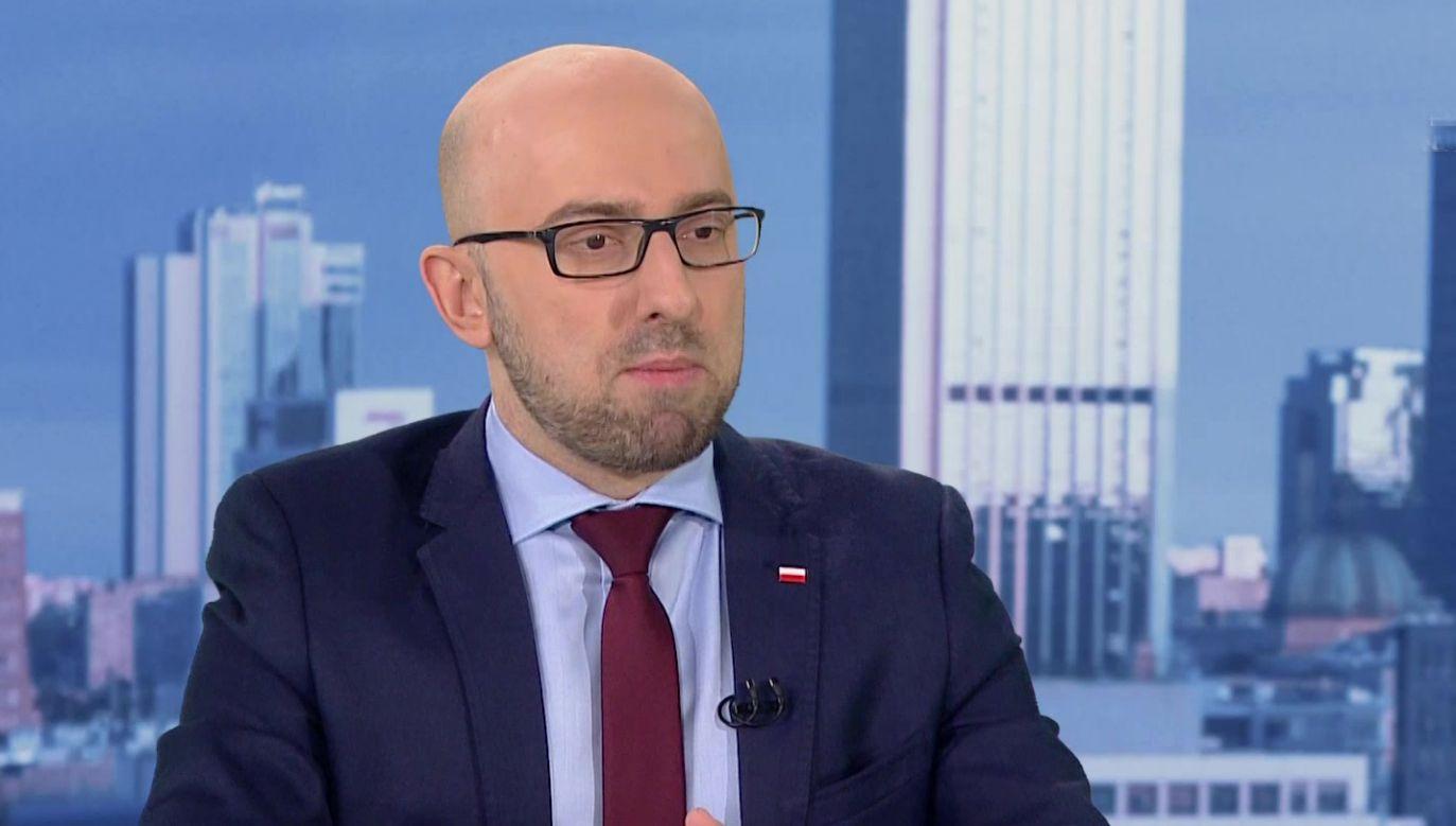 Rzecznik prezydenta Krzysztof Łapiński (fot. TVP Info)