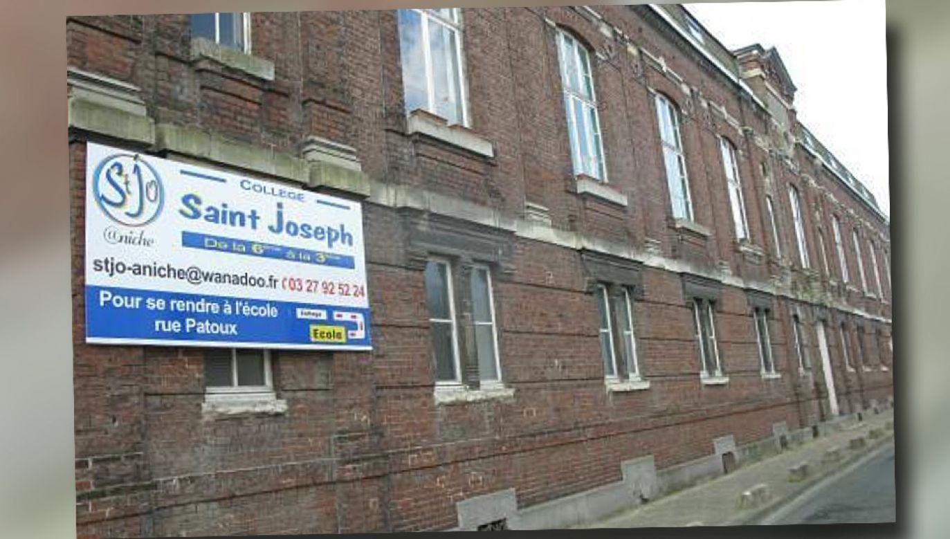 Św. Józef był patronem prywatnej szkoły, której budynek przejęło merostwo (fot. TT/La Voix du Nord)
