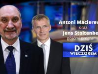 Macierewicz i Stoltenberg będą gośćmi TVP Info
