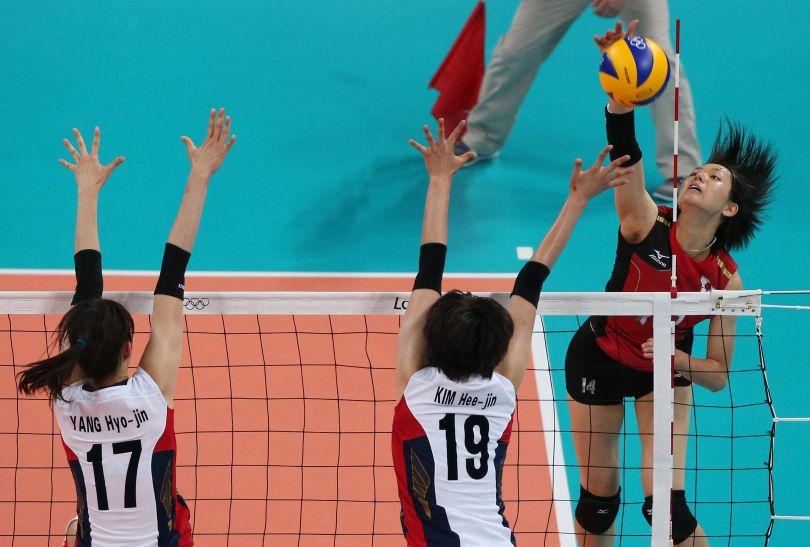 Saori Sakoda zdobyła dla Japonii aż 23 punkty (fot. Getty Images)