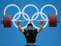 Srebrny medalista Navab Nasirshelal (fot.Getty Images)